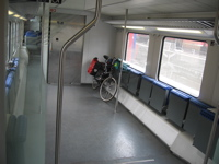 Cycle space German rail